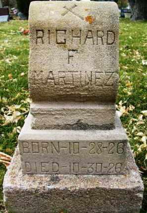 MARTINEZ, RICHARD F. - Boulder County, Colorado | RICHARD F. MARTINEZ - Colorado Gravestone Photos