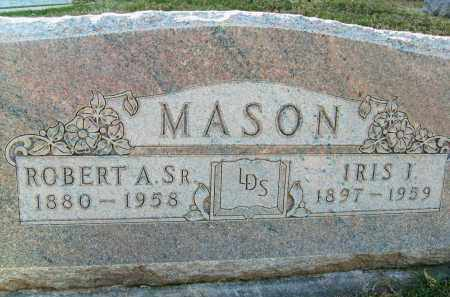 MASON, ROBERT A., SR. - Boulder County, Colorado | ROBERT A., SR. MASON - Colorado Gravestone Photos