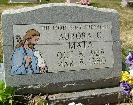 MATA, AURORA C. - Boulder County, Colorado   AURORA C. MATA - Colorado Gravestone Photos