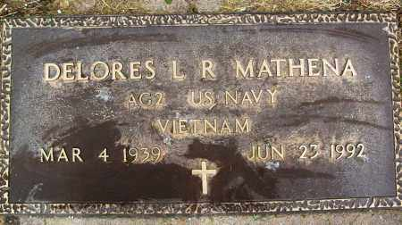 MATHENA, DELORES L. R. - Boulder County, Colorado | DELORES L. R. MATHENA - Colorado Gravestone Photos