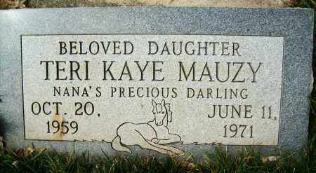MAUZY, TERI KAYE - Boulder County, Colorado | TERI KAYE MAUZY - Colorado Gravestone Photos