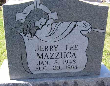 MAZZUCA, JERRY LEE - Boulder County, Colorado | JERRY LEE MAZZUCA - Colorado Gravestone Photos