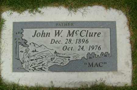 MCCLURE, JOHN W. - Boulder County, Colorado | JOHN W. MCCLURE - Colorado Gravestone Photos