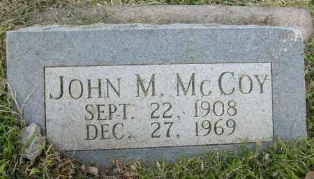 MCCOY, JOHN M. - Boulder County, Colorado | JOHN M. MCCOY - Colorado Gravestone Photos