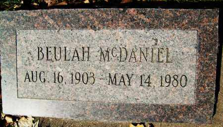 MCDANIEL, BEULAH - Boulder County, Colorado | BEULAH MCDANIEL - Colorado Gravestone Photos