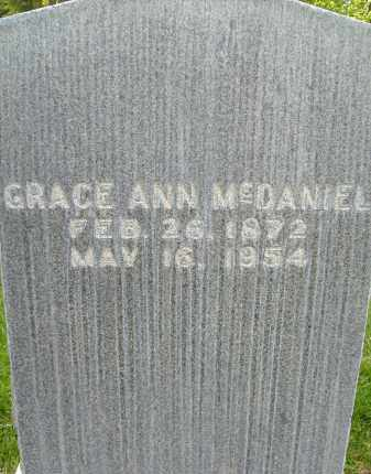 MCDANIEL, GRACE ANN - Boulder County, Colorado | GRACE ANN MCDANIEL - Colorado Gravestone Photos