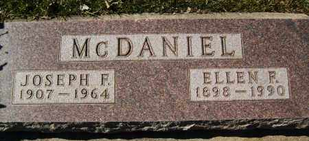 MCDANIEL, JOSEPH F. - Boulder County, Colorado | JOSEPH F. MCDANIEL - Colorado Gravestone Photos