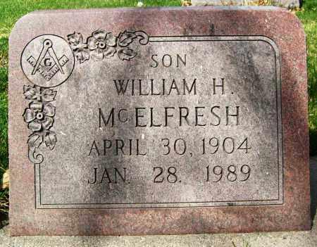 MCELFRESH, WILLIAM H. - Boulder County, Colorado | WILLIAM H. MCELFRESH - Colorado Gravestone Photos