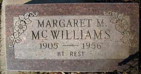 MCWILLIAMS, MARGARET M. - Boulder County, Colorado | MARGARET M. MCWILLIAMS - Colorado Gravestone Photos