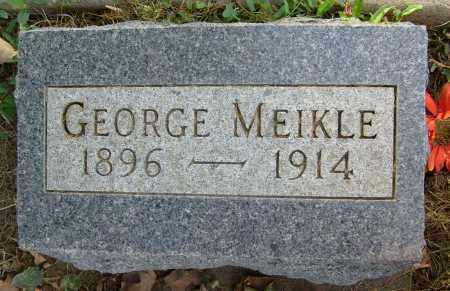 MEIKLE, GEORGE - Boulder County, Colorado | GEORGE MEIKLE - Colorado Gravestone Photos