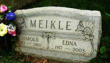 MEIKLE, HAROLD - Boulder County, Colorado | HAROLD MEIKLE - Colorado Gravestone Photos