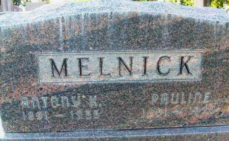 MELNICK, PAULINE - Boulder County, Colorado | PAULINE MELNICK - Colorado Gravestone Photos