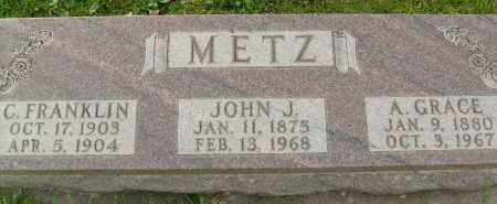METZ, A. GRACE - Boulder County, Colorado | A. GRACE METZ - Colorado Gravestone Photos