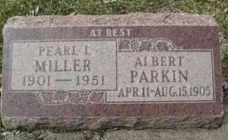 MILLER, PEARL I. - Boulder County, Colorado | PEARL I. MILLER - Colorado Gravestone Photos
