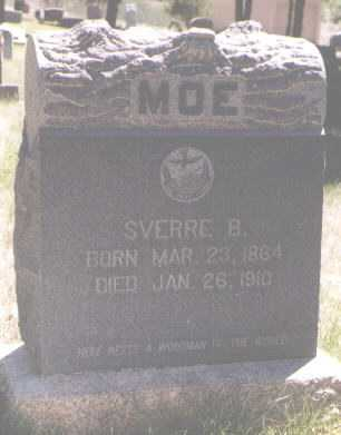 MOE, SVERRE B. - Boulder County, Colorado | SVERRE B. MOE - Colorado Gravestone Photos