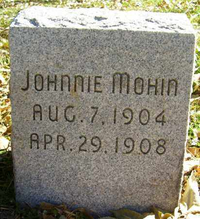 MOHIN, JOHNNIE - Boulder County, Colorado | JOHNNIE MOHIN - Colorado Gravestone Photos