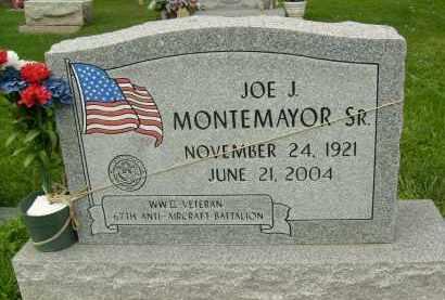 MONTEMAYOR, JOE J., SR. - Boulder County, Colorado   JOE J., SR. MONTEMAYOR - Colorado Gravestone Photos