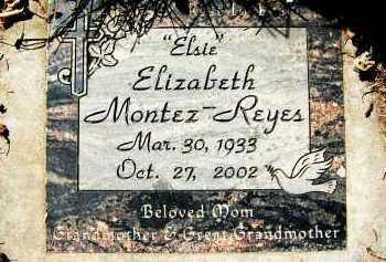 "MONTEZ-REYES, ELIZABETH ""ELSIE"" - Boulder County, Colorado | ELIZABETH ""ELSIE"" MONTEZ-REYES - Colorado Gravestone Photos"