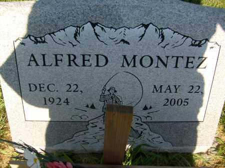MONTEZ, ALFRED - Boulder County, Colorado | ALFRED MONTEZ - Colorado Gravestone Photos