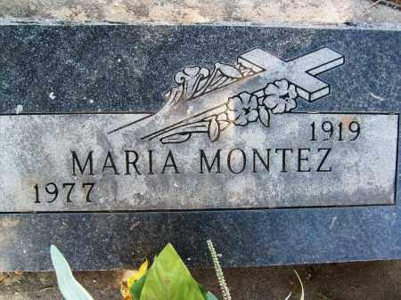 MONTEZ, MARIA - Boulder County, Colorado | MARIA MONTEZ - Colorado Gravestone Photos