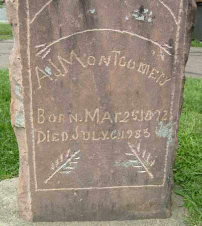 MONTGOMERY, A.J. - Boulder County, Colorado | A.J. MONTGOMERY - Colorado Gravestone Photos