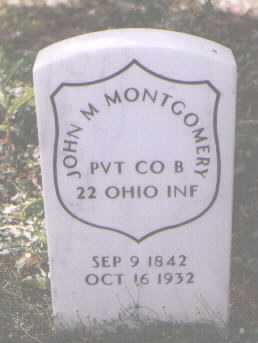 MONTGOMERY, JOHN M. - Boulder County, Colorado   JOHN M. MONTGOMERY - Colorado Gravestone Photos