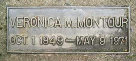 MONTOUR, VERONICA M. - Boulder County, Colorado   VERONICA M. MONTOUR - Colorado Gravestone Photos