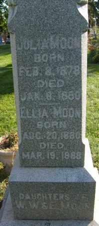 MOON, ELLIA - Boulder County, Colorado | ELLIA MOON - Colorado Gravestone Photos