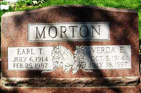MORTON, VERDA E. - Boulder County, Colorado | VERDA E. MORTON - Colorado Gravestone Photos