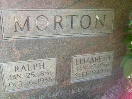 MORTON, ELIZABETH - Boulder County, Colorado | ELIZABETH MORTON - Colorado Gravestone Photos