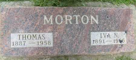 MORTON, THOMAS - Boulder County, Colorado | THOMAS MORTON - Colorado Gravestone Photos