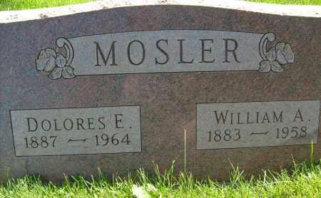 MOSLER, DOLORES E. - Boulder County, Colorado   DOLORES E. MOSLER - Colorado Gravestone Photos