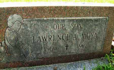 MOYA, LAWRENCE A. - Boulder County, Colorado   LAWRENCE A. MOYA - Colorado Gravestone Photos