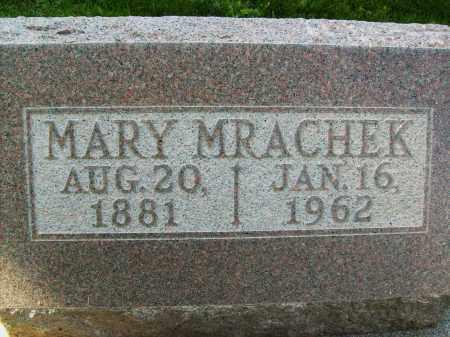 MRACHEK, MARY - Boulder County, Colorado   MARY MRACHEK - Colorado Gravestone Photos