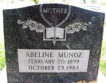 MUNOZ, ABELINE - Boulder County, Colorado | ABELINE MUNOZ - Colorado Gravestone Photos