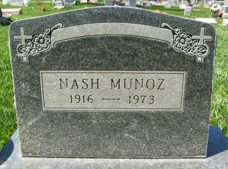 MUNOZ, NASH - Boulder County, Colorado | NASH MUNOZ - Colorado Gravestone Photos