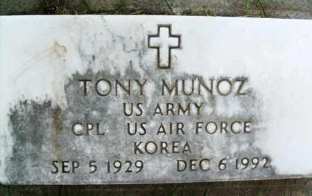 MUNOZ, TONY - Boulder County, Colorado   TONY MUNOZ - Colorado Gravestone Photos