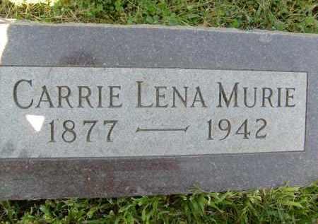 MURIE, CARRIE LENA - Boulder County, Colorado   CARRIE LENA MURIE - Colorado Gravestone Photos
