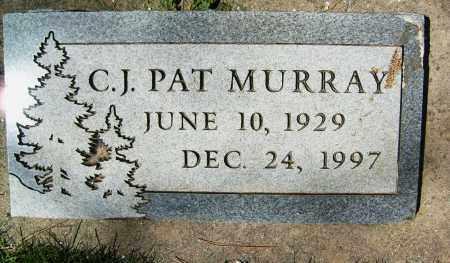 MURRAY, C.J. PAT - Boulder County, Colorado   C.J. PAT MURRAY - Colorado Gravestone Photos