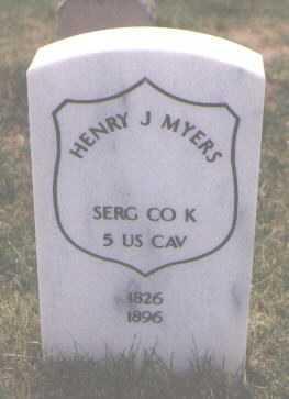 MYERS, HENRY J. - Boulder County, Colorado | HENRY J. MYERS - Colorado Gravestone Photos