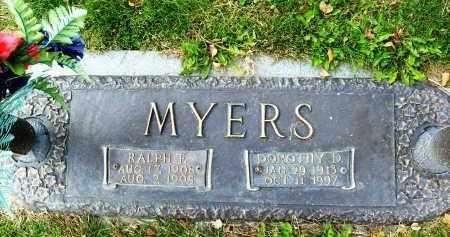 MYERS, RALPH F. - Boulder County, Colorado | RALPH F. MYERS - Colorado Gravestone Photos