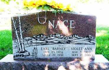"NACE, EARL ""BARNEY"" - Boulder County, Colorado | EARL ""BARNEY"" NACE - Colorado Gravestone Photos"