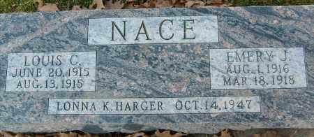 NACE, LOUIS C. - Boulder County, Colorado | LOUIS C. NACE - Colorado Gravestone Photos