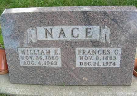 NACE, WILLIAM E. - Boulder County, Colorado | WILLIAM E. NACE - Colorado Gravestone Photos