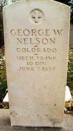 NELSON, GEORGE W. - Boulder County, Colorado | GEORGE W. NELSON - Colorado Gravestone Photos