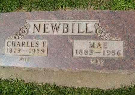 NEWBILL, MAE - Boulder County, Colorado | MAE NEWBILL - Colorado Gravestone Photos