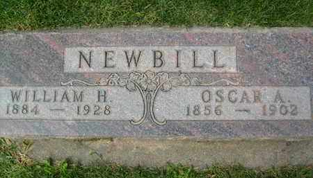NEWBILL, OSCAR A. - Boulder County, Colorado | OSCAR A. NEWBILL - Colorado Gravestone Photos