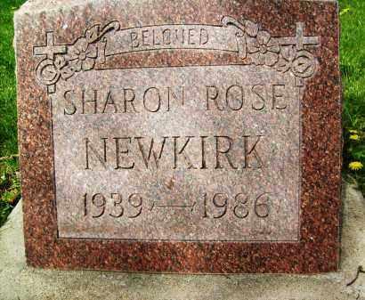NEWKIRK, SHARON ROSE - Boulder County, Colorado | SHARON ROSE NEWKIRK - Colorado Gravestone Photos