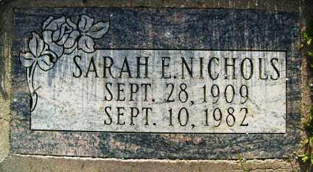 NICHOLS, SARAH E. - Boulder County, Colorado | SARAH E. NICHOLS - Colorado Gravestone Photos