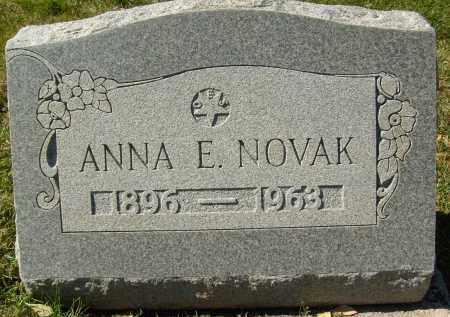 NOVAK, ANNA E. - Boulder County, Colorado | ANNA E. NOVAK - Colorado Gravestone Photos